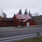 Gammel-meieriet høsten 2000. Foto: Arne Langås.