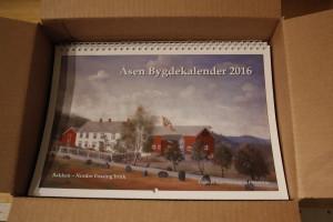 Kalenderen 2016 - rett fra trykkeri.