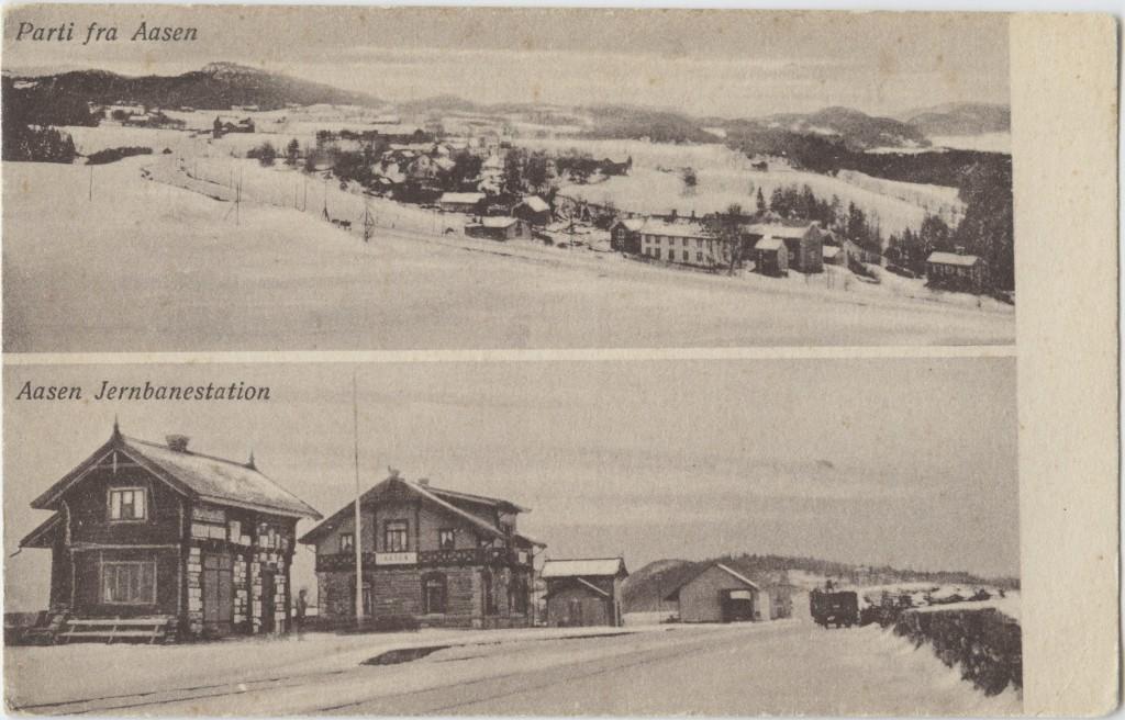 Åsen ca. 1915.