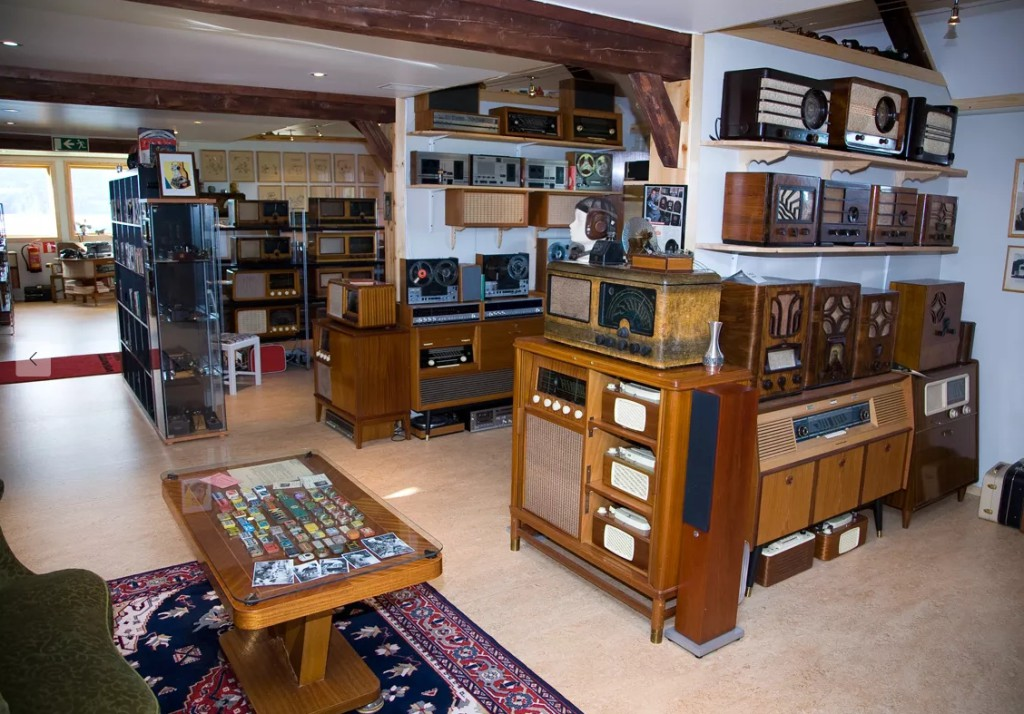 Norsk Radiomuseum. Foto: http://norskradio-tv-museum.no/