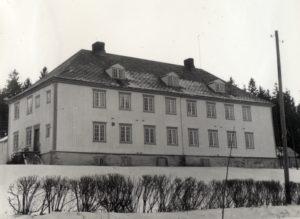 Åsen aldersheim, trolig ca. 1960. Fotograf: Arnfinn Husby. Foto utlånt av Magne Husby.